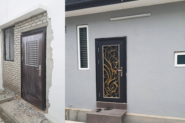 Security door new edge safety door sdn bhd for Door design johor bahru
